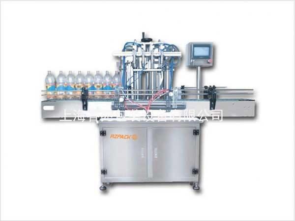 四头全自动活塞式液体灌装机